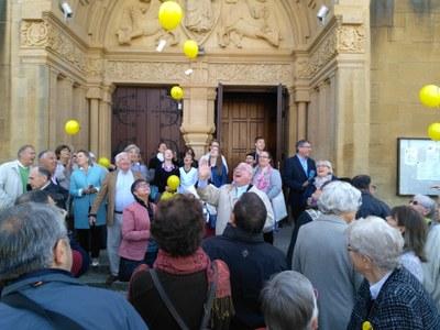 400 ans ESV Metz lâcher de ballons (1)