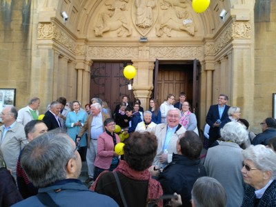 400 ans ESV Metz lâcher de ballons (2)